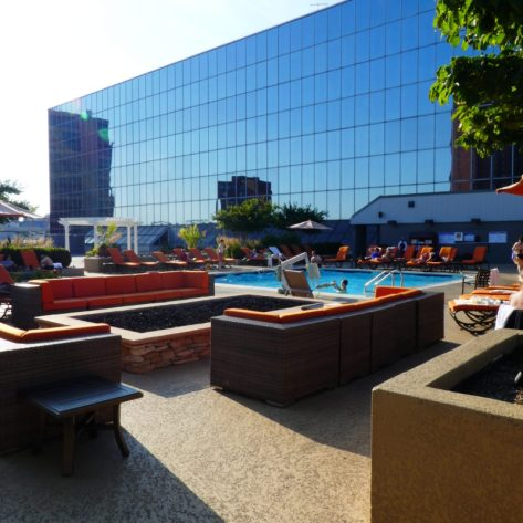 Rooftop space for swimming, relaxing and enjoying Baltimore photo credit: Jennifer Greene