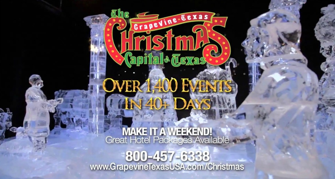 Celebrate in the Christmas Capital of Texas, Grapevine