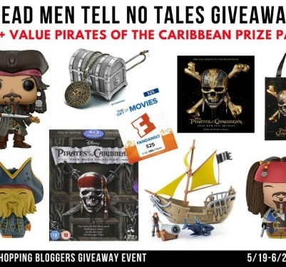 pirates of the caribbean giveaway