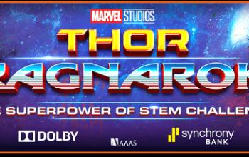 "Marvel Studios presents THOR: RAGNAROK ""Superpower of STEM Challenge"" For Girls"