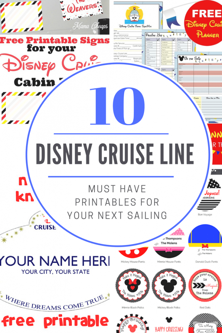 Disney Cruise Line Crafts: Fun For Your Next Adventure at Sea