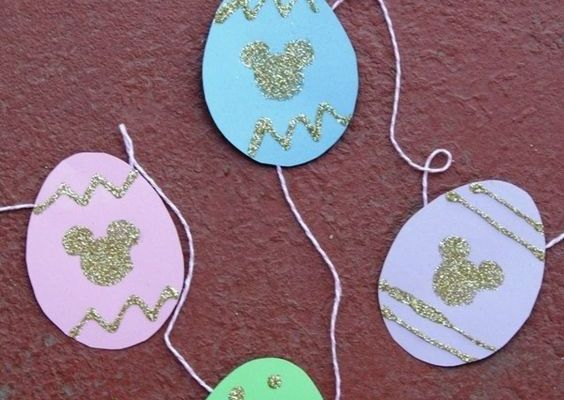 Disney Easter Crafts: From Printables to Recipes