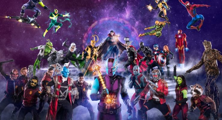 MARVEL UNIVERSE LIVE! Age of Heroes comes to Baltimore April 5-8