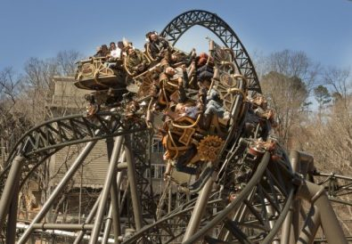 time traveler roller coaster
