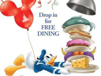 free disney dining offer