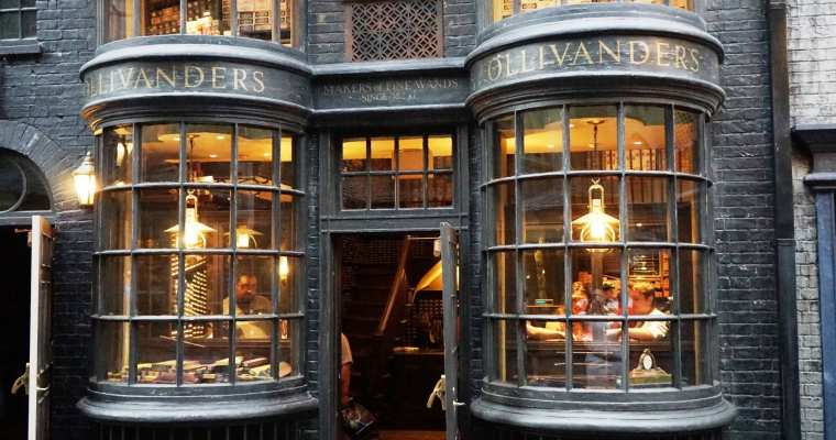Ollivanders Wand Shop at Universal Orlando