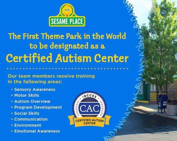 sesame place autism