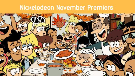 Nickelodeon Thanksgiving Line-Up Begins November 5