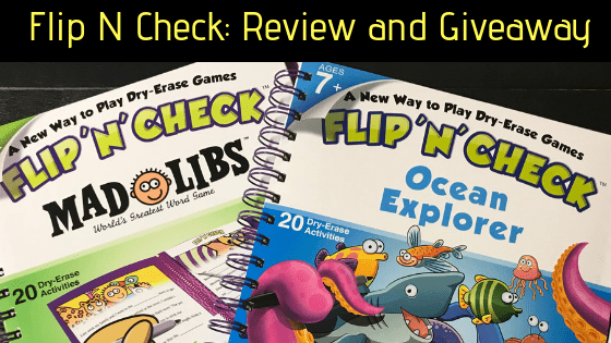 Flip 'N' Check Review: Educational Fun On The Go
