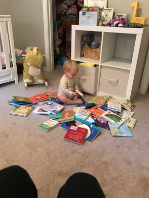 Reading ALL of her books.