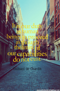 """""""It is our duty as human beings to proceed as though the"""