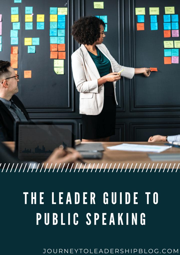 Public Speaking In Leadership