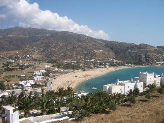 Mylopotas Beach Ios Greece best beaches in Europe