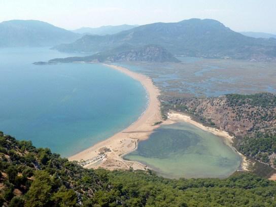 Iztuzu Beach Dalyan Turkey best beaches in Europe
