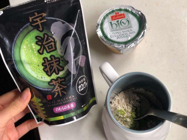 uji matcha green tea for healthy matcha mug cake