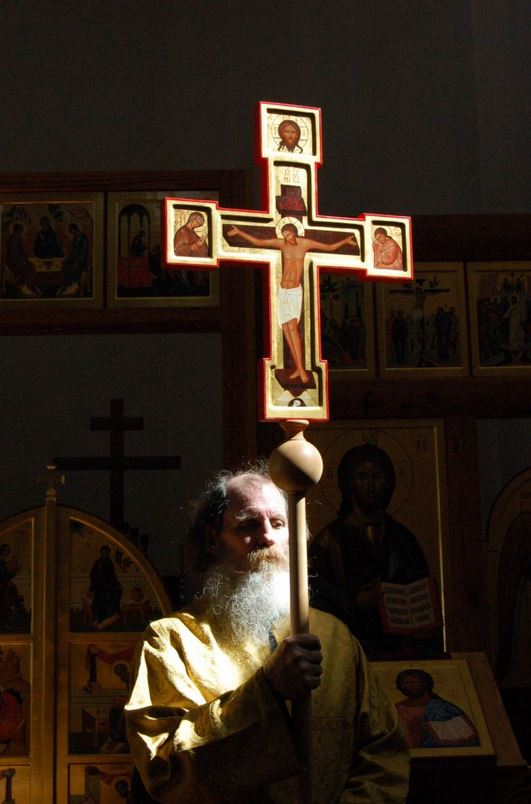 Procession Cross orthodoxy