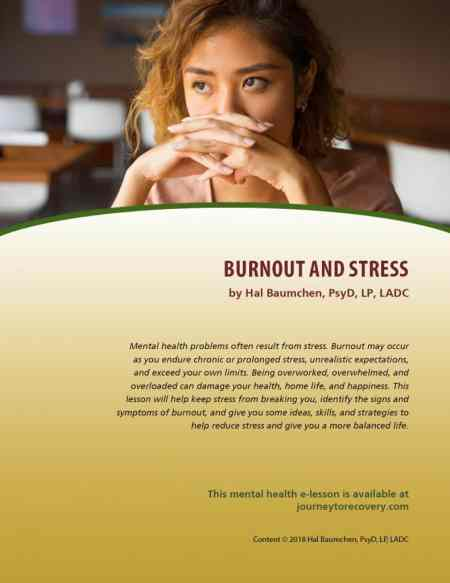 Burnout and Stress (MH Lesson)