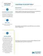 Choosing to Accept Help (COD Focused Journal)