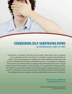 Conquering Self-Sabotaging Views (COD Lesson)