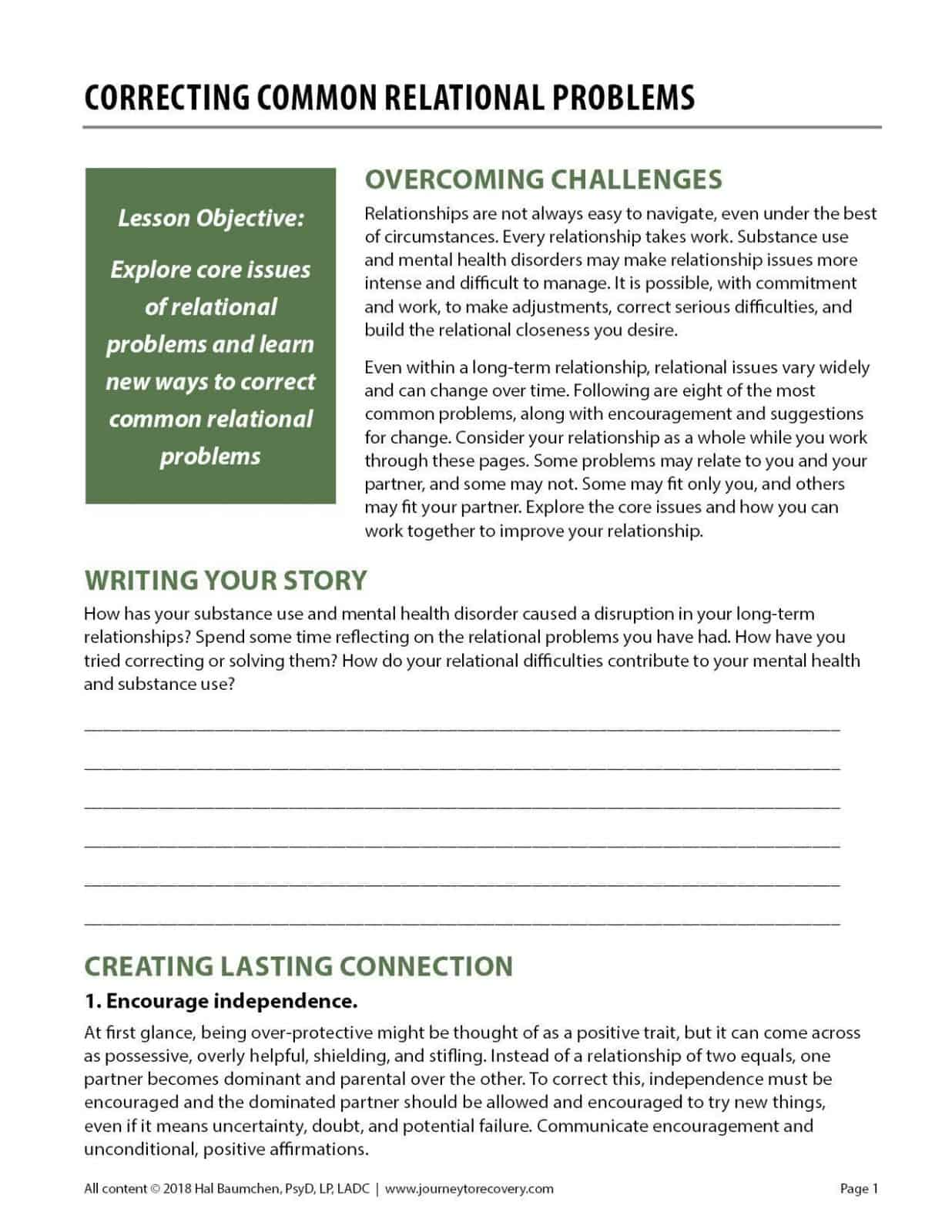 Co Occurring Disorders Topic Lessons