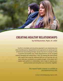 Creating Healthy Relationships (MH Lesson)