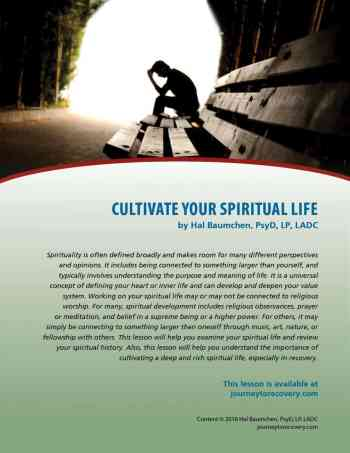 Cultivate Your Spiritual Life (COD Lesson)