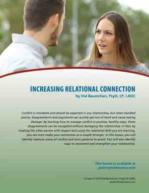 Increasing Relational Connection (COD Lesson)