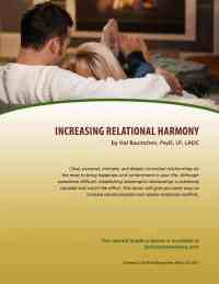 Increasing Relational Harmony (MH Lesson)