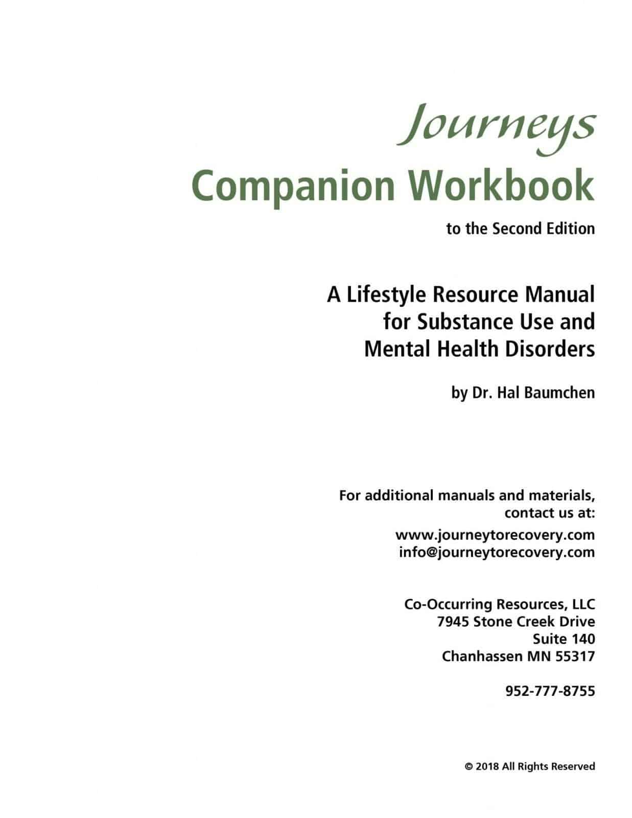 Journeys Companion Workbook