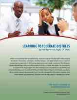 Learning to Tolerate Distress (COD Lesson)