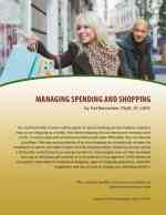 Managing Spending and Shopping (MH Lesson) (MEMBER)