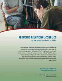 Reducing Relational Conflict (COD Lesson)
