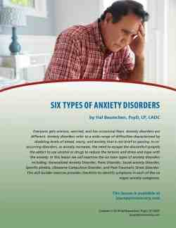 Six Types of Anxiety Disorders (COD Lesson)