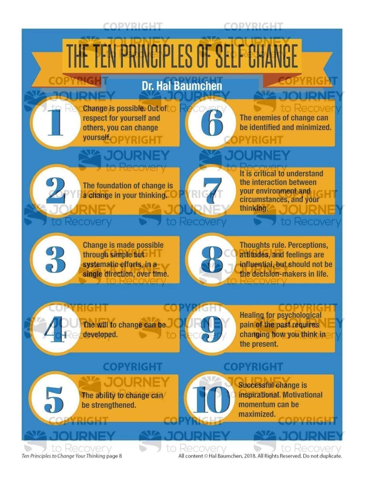 Ten Principles To Change Your Thinking Mh Lesson