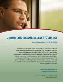 Understanding Ambivalence to Change (COD Lesson)