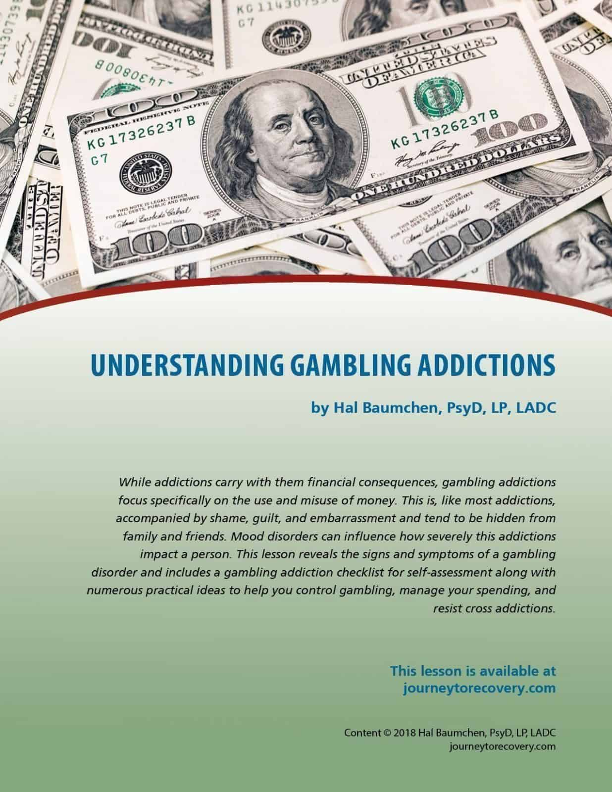 Understanding Addictions Cod Lesson