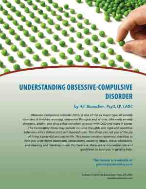 Understanding Obsessive-Compulsive Disorder (COD Lesson)