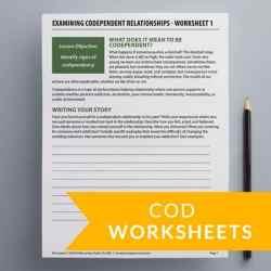 COD Worksheets