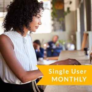Single User Subscription (Monthly)
