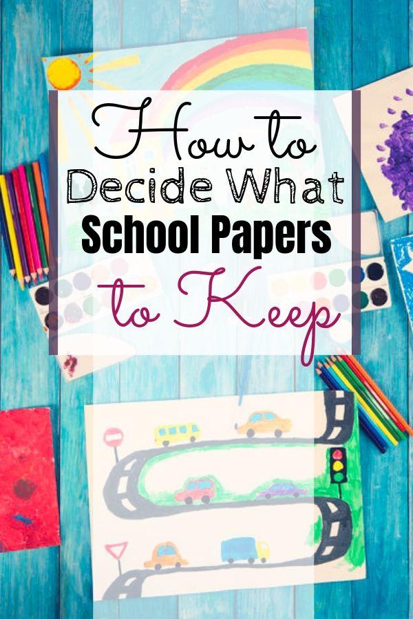 Kids School Papers