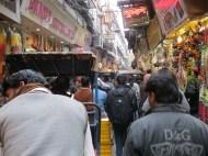 Old Delhi Market Scene
