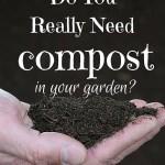 Do I Really Need Compost?