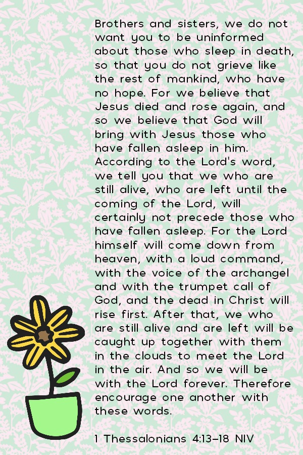 1 Thessalonains 4:13-18