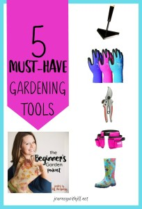 5 Must-Have Gardening Tools