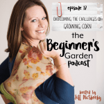 Overcoming the Challenges of Growing Corn {Beginner's Garden Podcast}