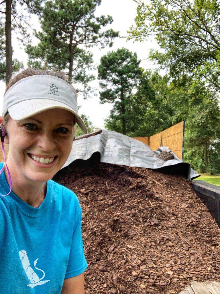 wood chip mulch for garden