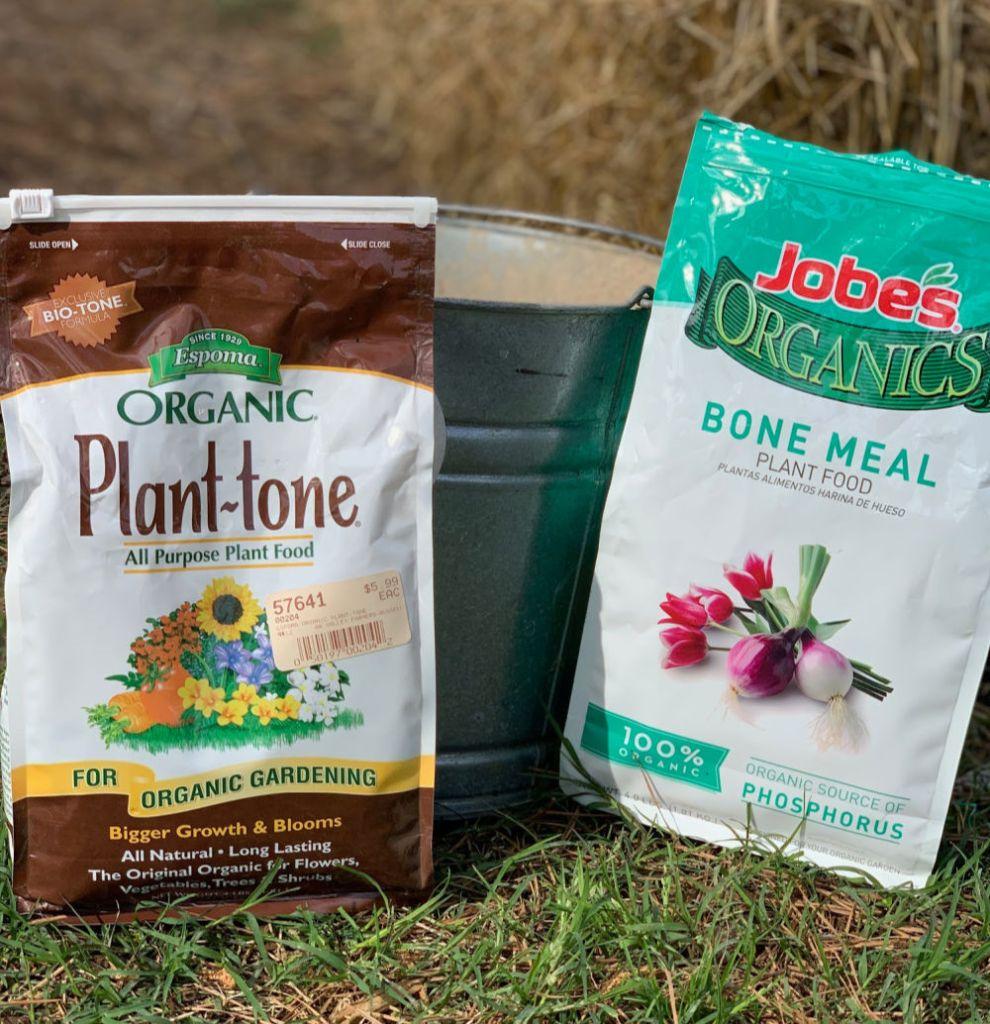 local options for garden fertilizer