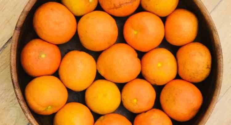 Oranges crop