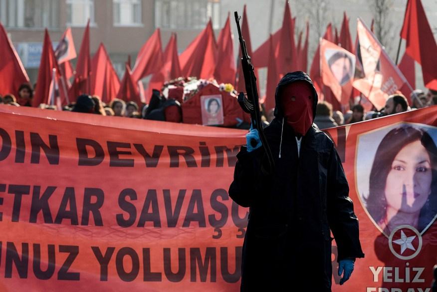 TURKEY-KURDS-UNREST-FUNERAL