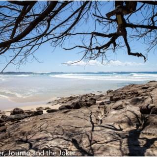 Postcard greetings – exploring Fraser Island